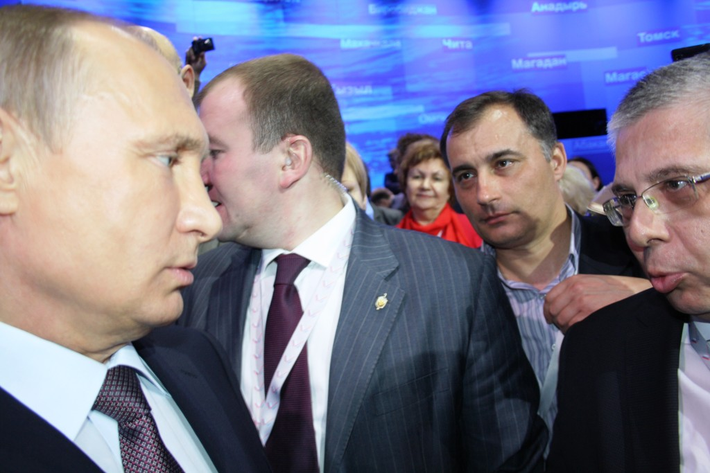 Putin Lisovskiy Mediforum 28 aprela 2015 Mediaform ONF