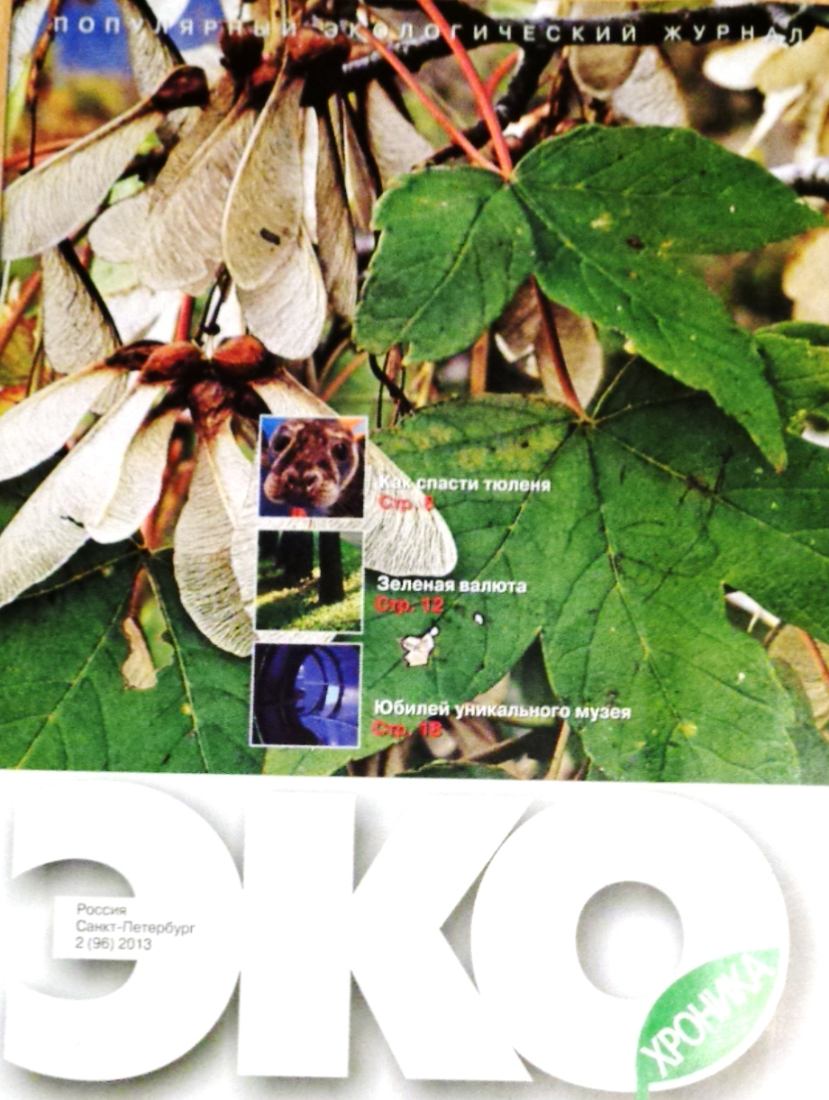 EcoHronika Jurnal SPb