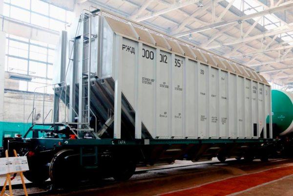 Alumin vagon