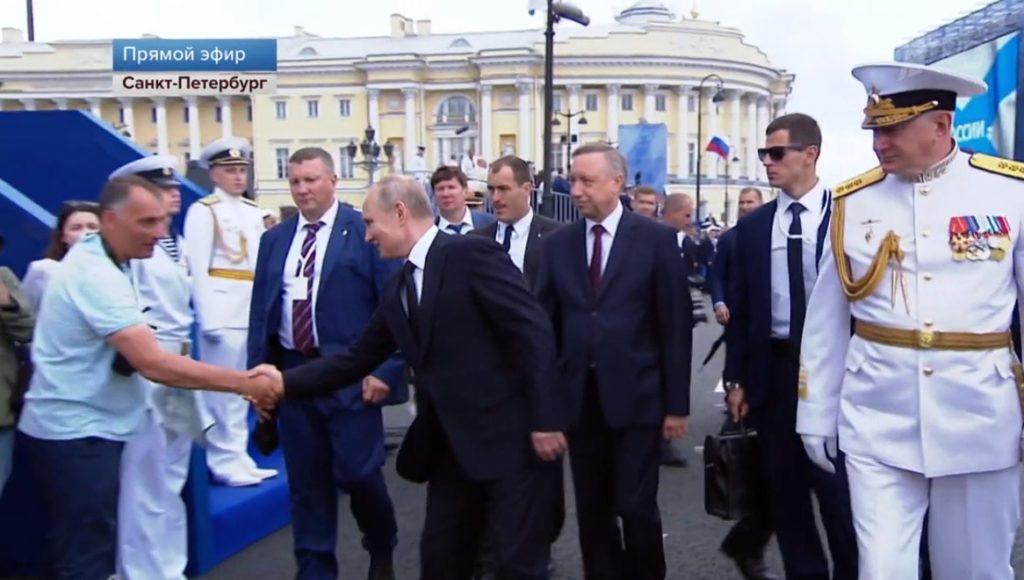 Putin Lisovskiy Den VMF 28 07 2019 2