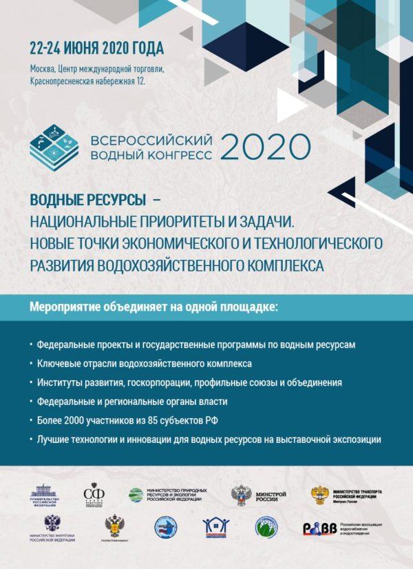 Vodny kongerss 2020 2