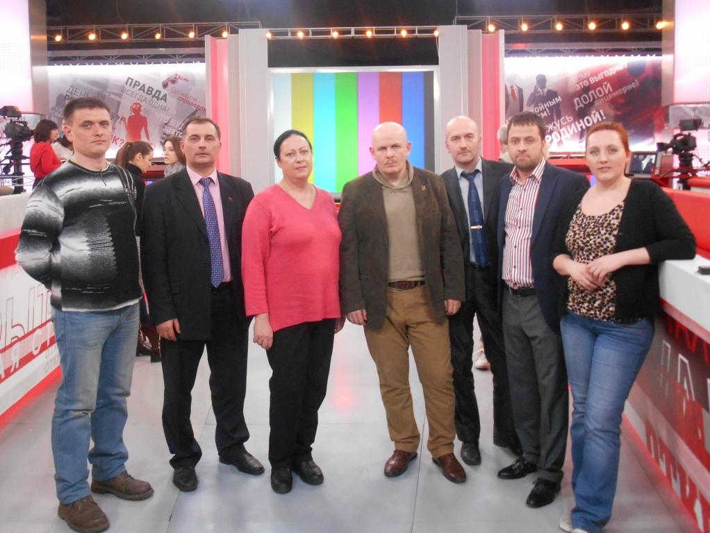 5 kanal Donbass 7 aprel 2015 Oles SPb Mu 2