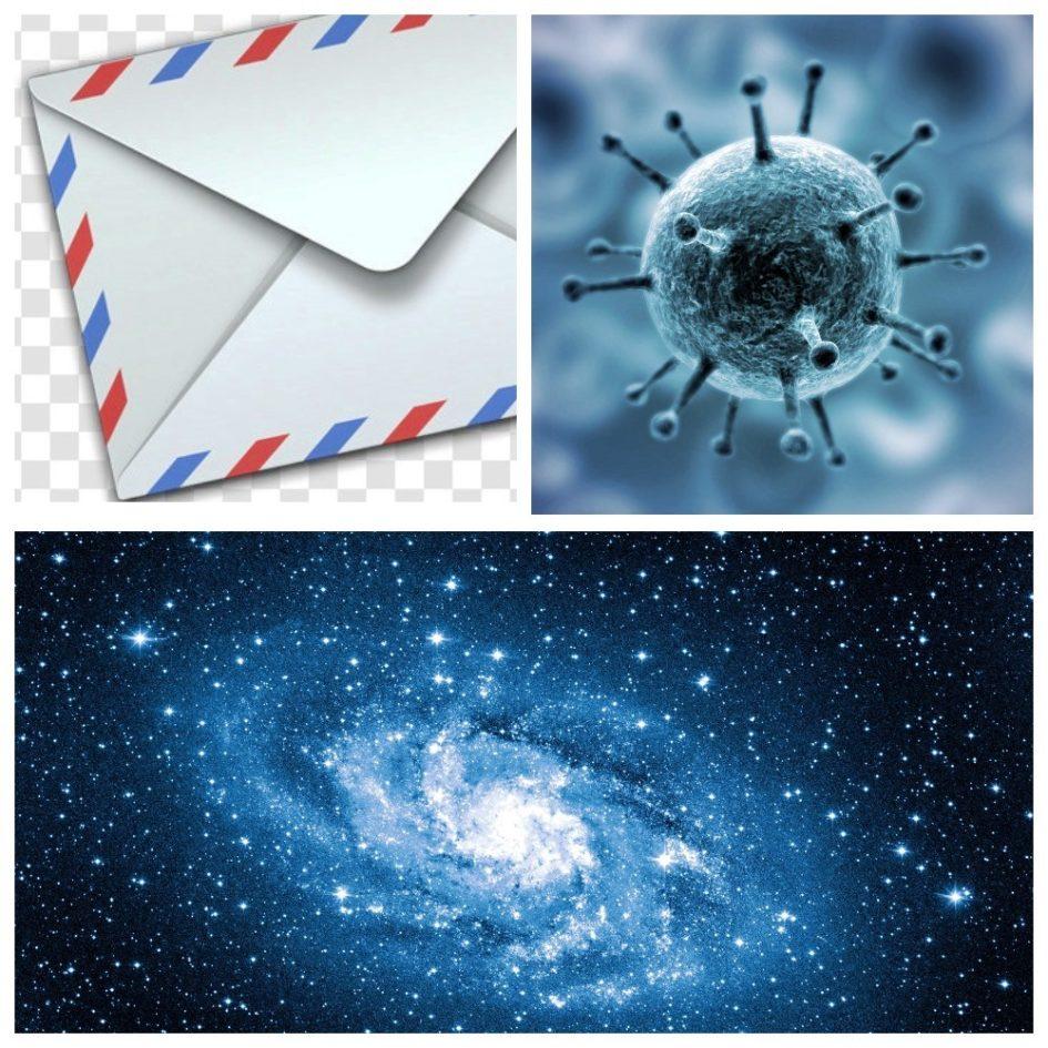 Pismo Koronavirus Kosmos 2020
