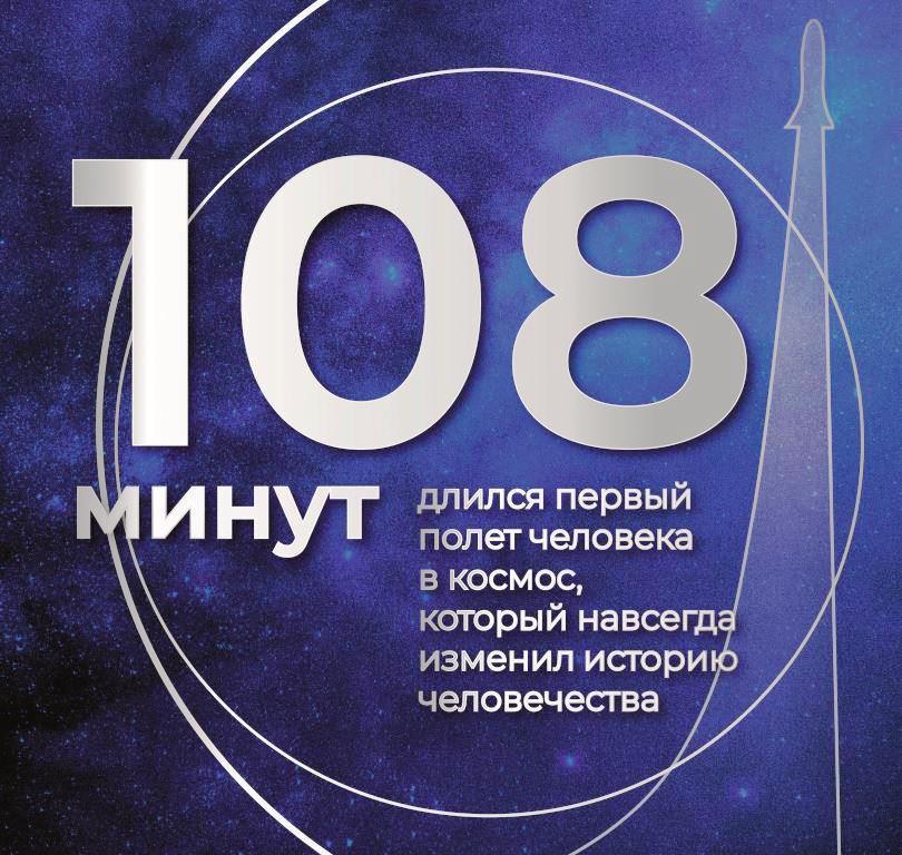 Gagarin nakleyka 960x910mm