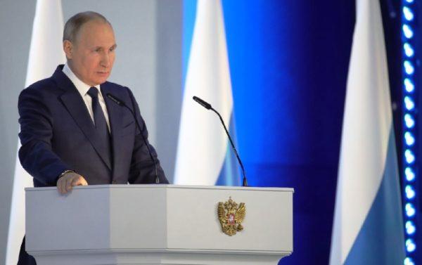 Putin Poslanie ONF 2021